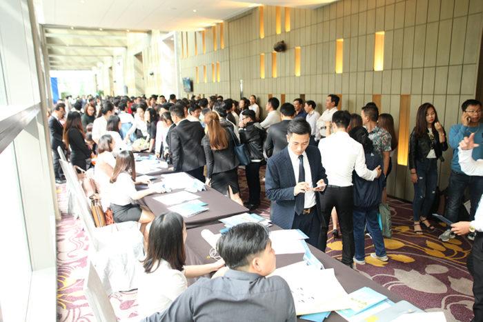 Sự kiện mở bán chính thức dự án Scenia Bay ngày 20/01/2018 tại Nha Trang đã thu hút đông đảo khách hàng tham gia