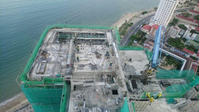Dự án vẫn đang được triển khai xây dựng đúng theo tiến độ đã đề ra